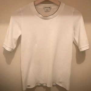 Lacoste white t-shirt